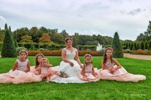 Hochzeitsshooting im Park